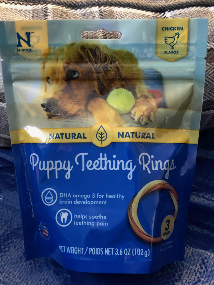 puppy teething rings