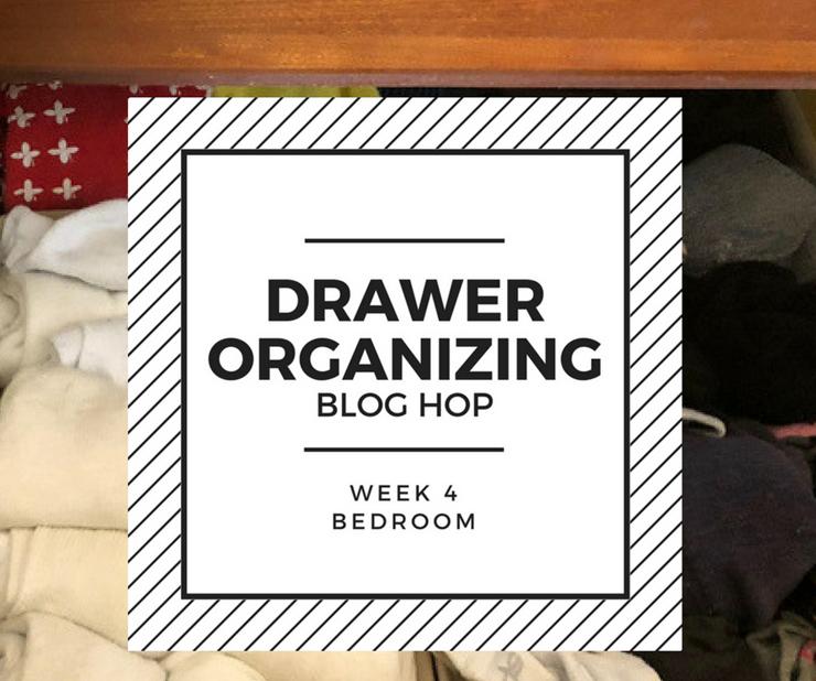 drawer organization blog hop