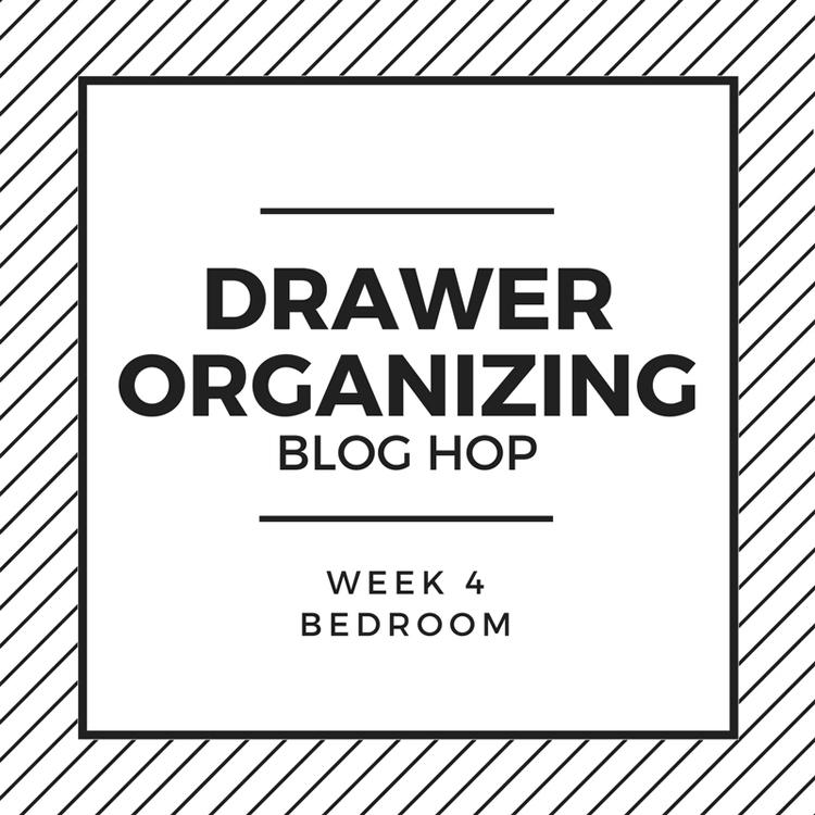 bedroom drawer organization