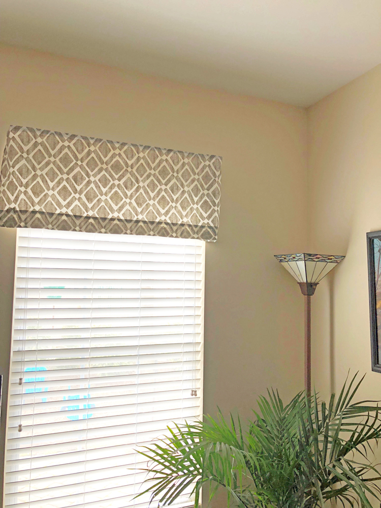 how to easily hang window valances