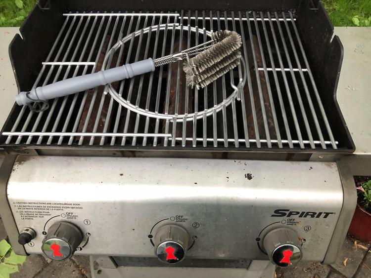 Cave Tools BBQ Grill Brush