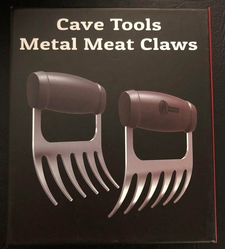 cave tools metal meat claws