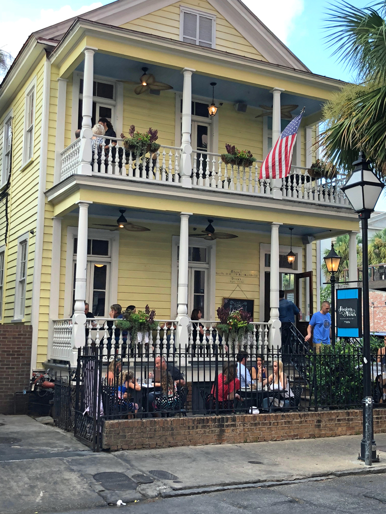 Poogan's Porch restaurant features fine LowCountry cuisine in Charleston and is housed in a historic victorian home