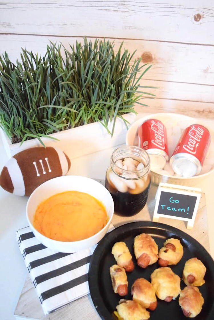 Home Gating With Pretzel Hot Dogs Pimento Cheese Dip