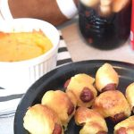 Home-Gating with Pretzel Hot Dogs & Pimento Cheese Dip