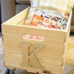 DIY Rolling Magazine Crate – Pinterest Challenge Blog Hop
