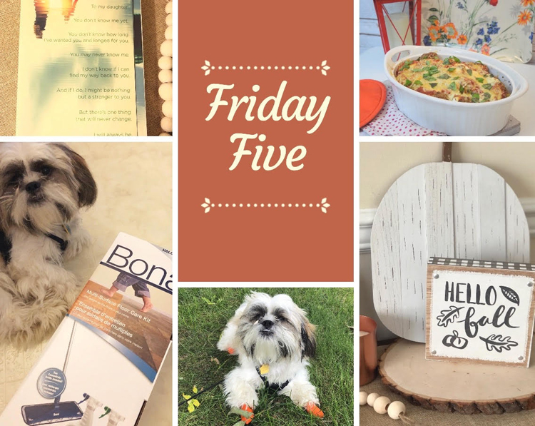 Friday Five Mom Home Guide