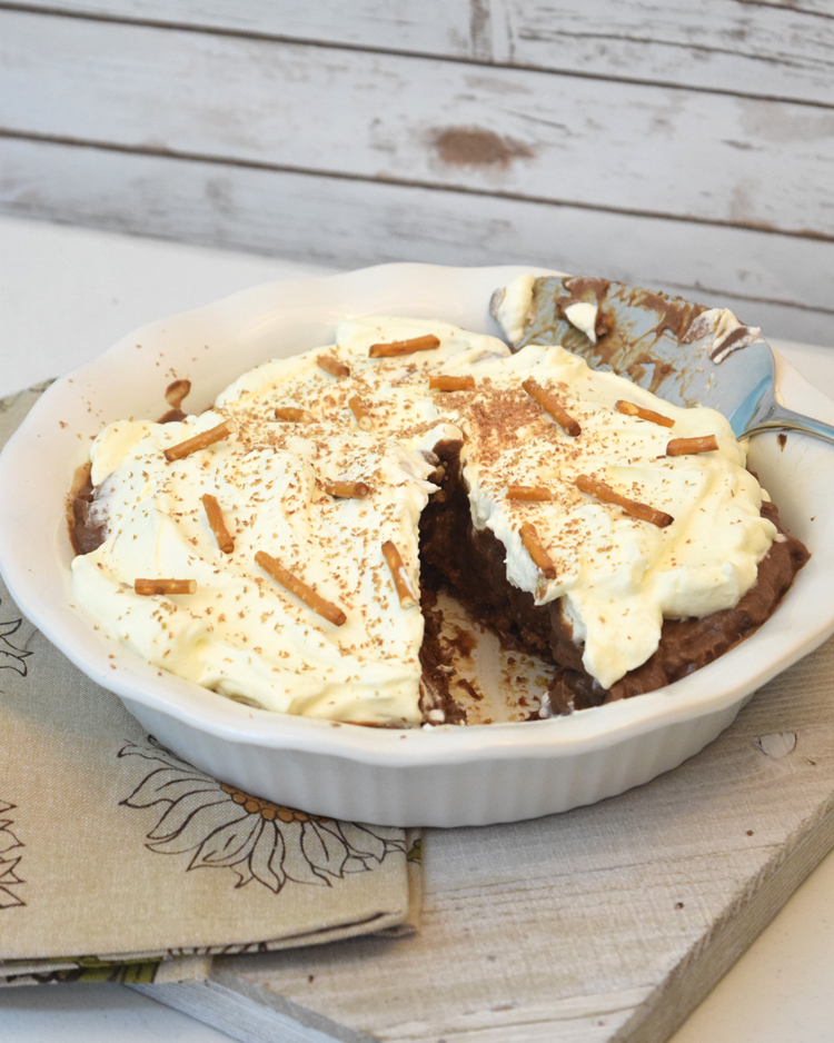 chocolate pretzel pie recipe