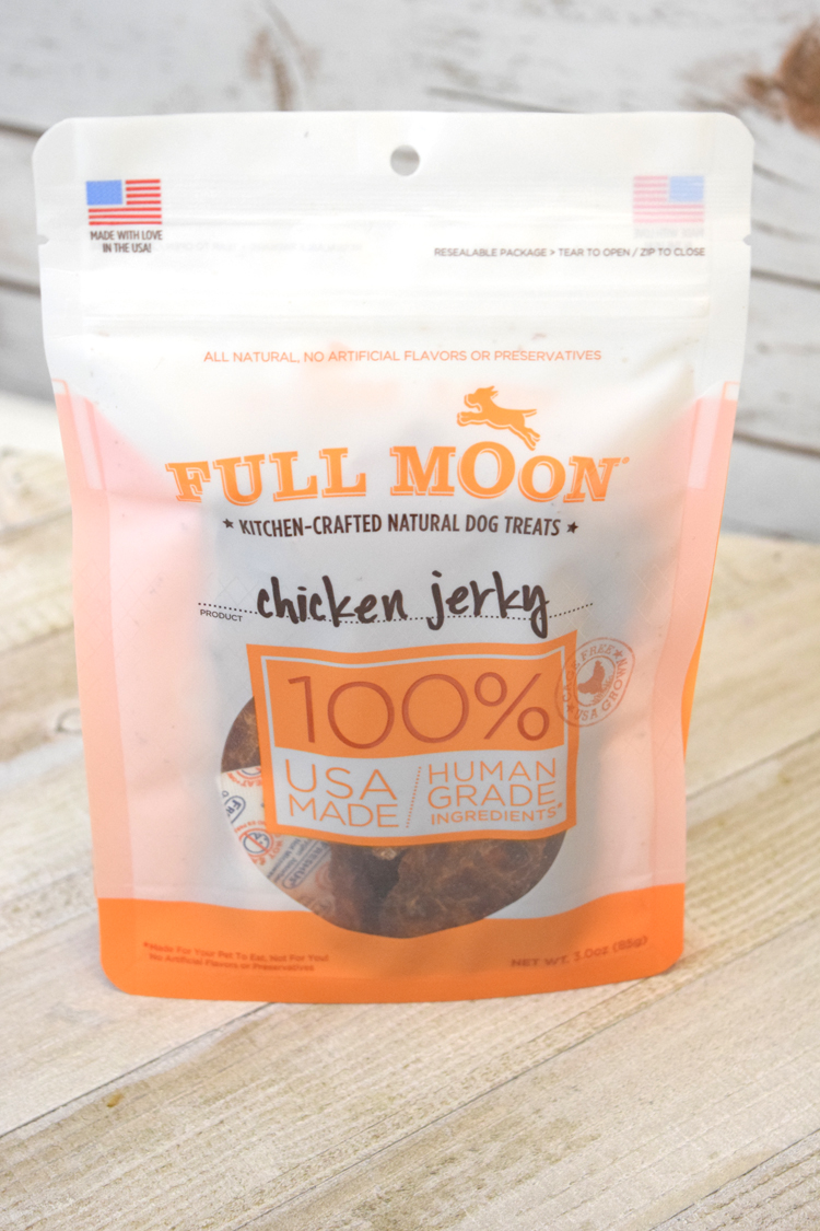 pupbox chicken jerky dog treats