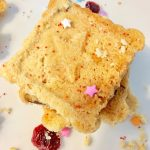 Cranberry Shortbread Cookies  | Taste Creations Blog Hop