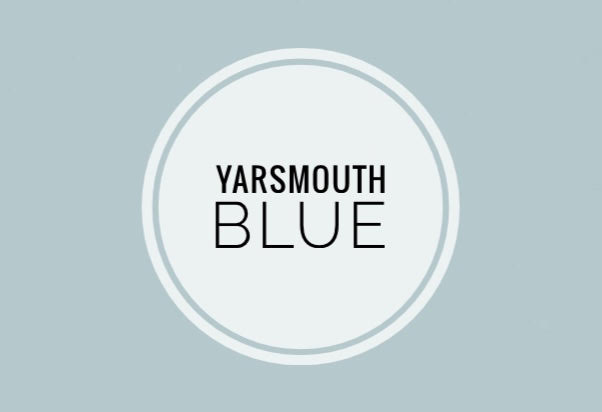 Yarsmouth Blue, in Benjamin Moore's historical collection, is a soothing collection of blue and green.