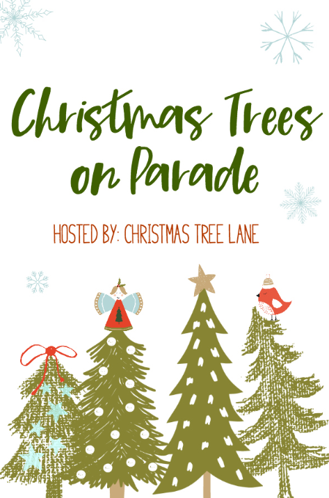 Enjoy a tour of several bloggers' Christmas trees in the Christmas trees on Parade blog hop