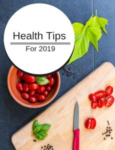 health tips for 2019