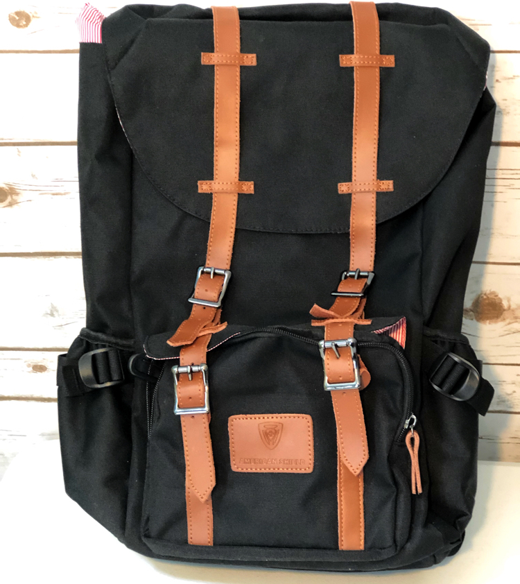 The new Granite 25 backpack from American Shield is great for an overnight trip and has a padded laptop compartment
