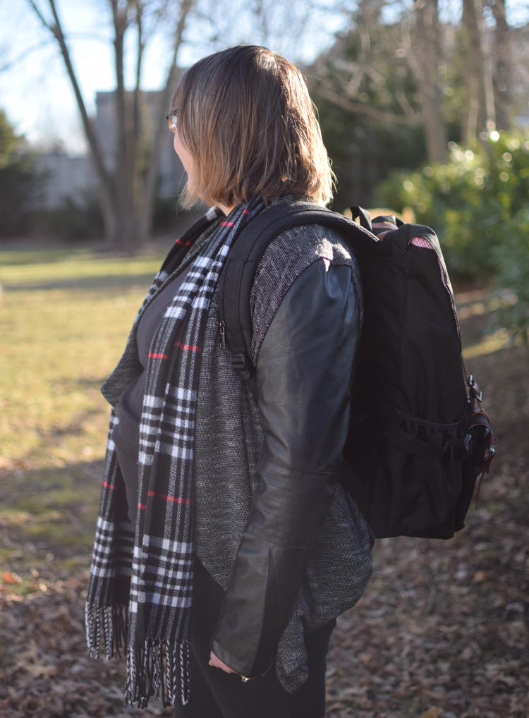 I love my new Granite 25 backpack by American Shield. It is durable, well made, and fits in well with my wardrobe.