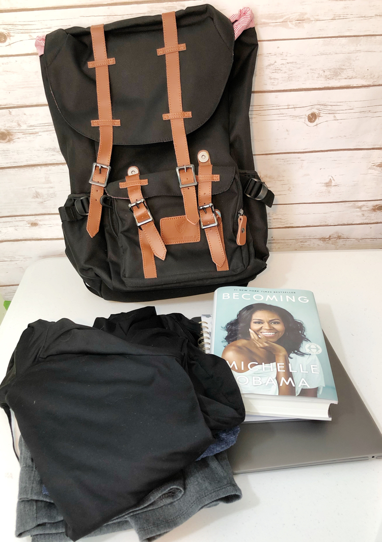 The new Granite 25 backpack by American Shield is a great overnight bag for personal and business travel