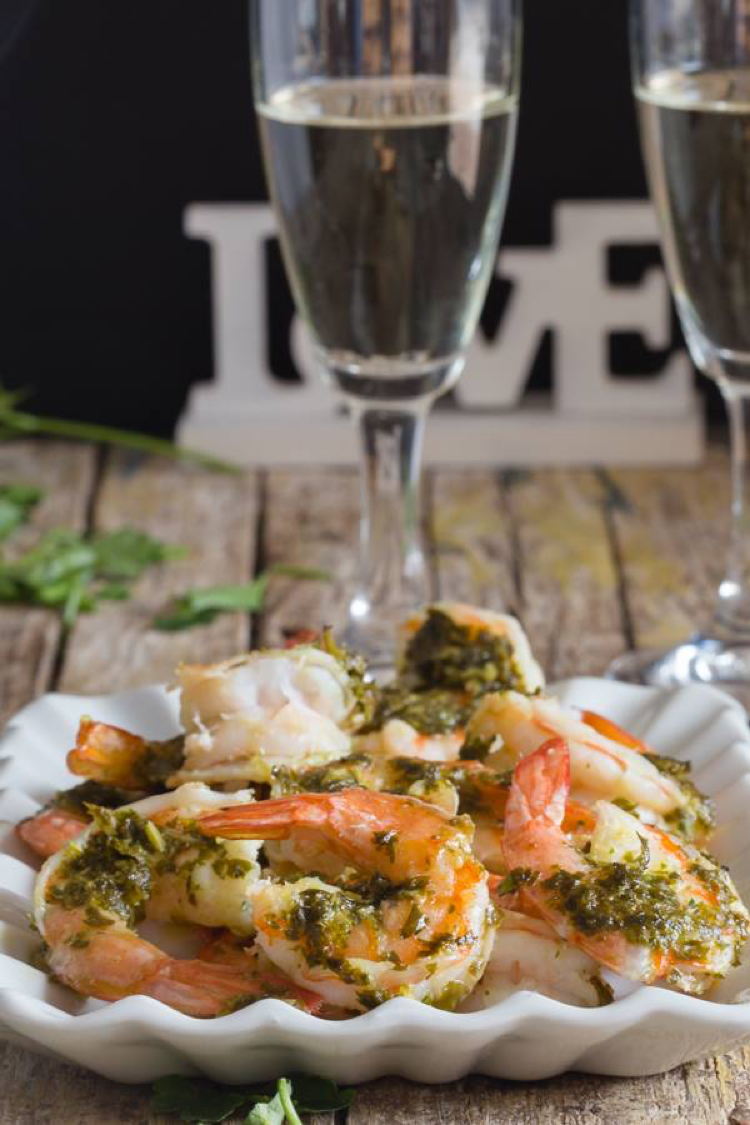I love this amazing and easy recipe for Italian baked shrimp