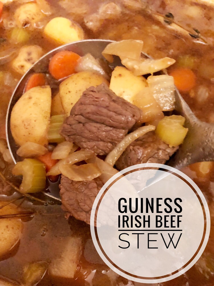 I love this easy and delicious Guinness beef stew recipe that can be made stovetop or in a slow cooker