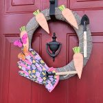 Spring Gardening Wreath — Monthly Craft Destash Challenge