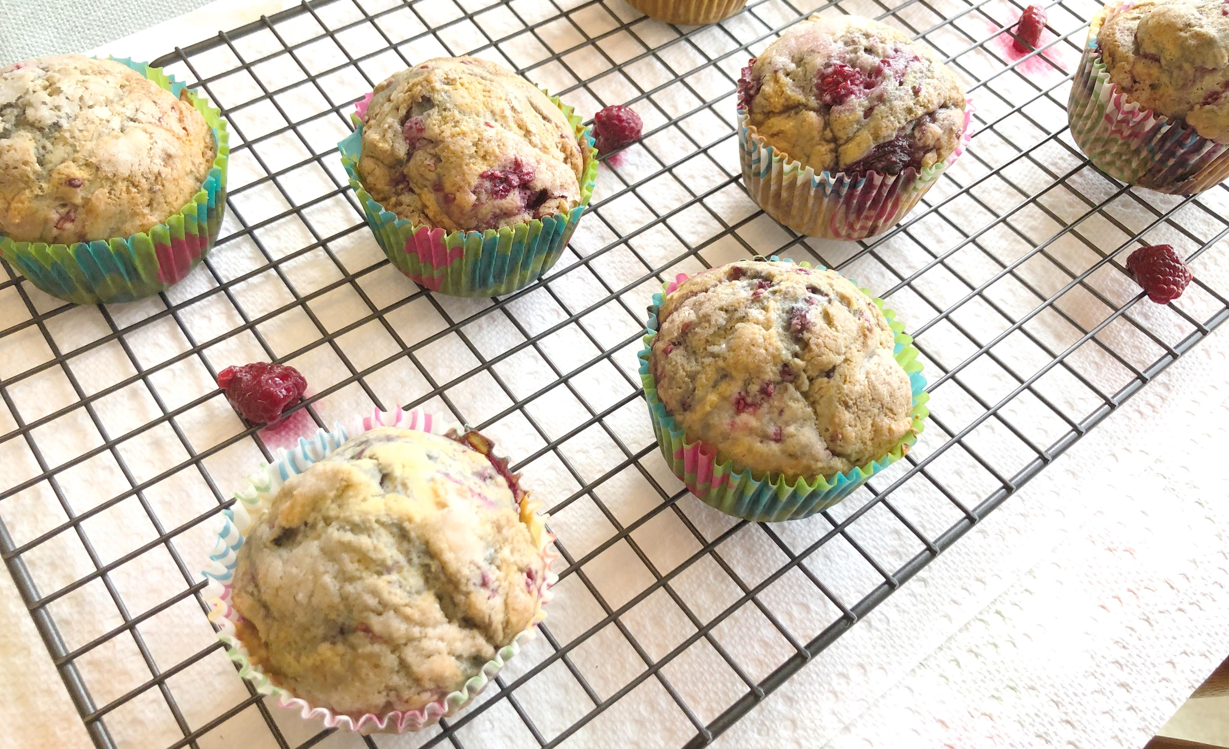 raspberry muffin recipe