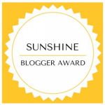The Sunshine Blogger Award & My Nominees