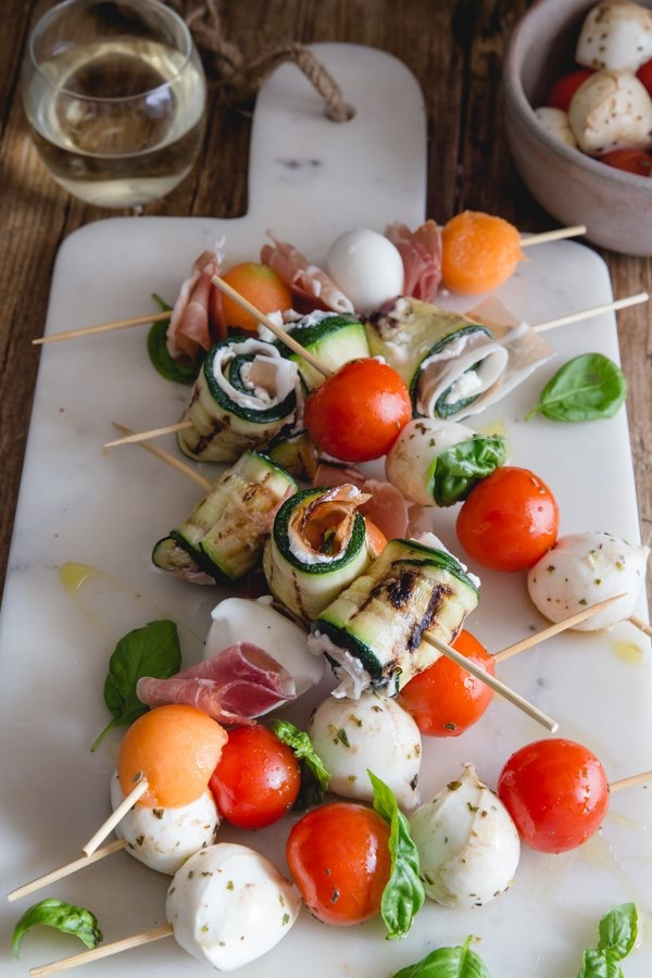 These antipasto skewers are easy to prepare and are so delicious!
