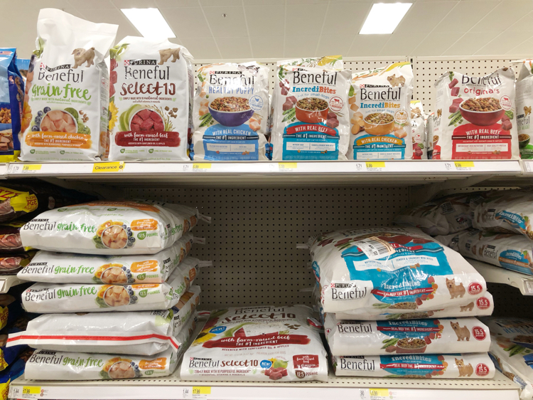 Purina Beneful dry dog food at Target