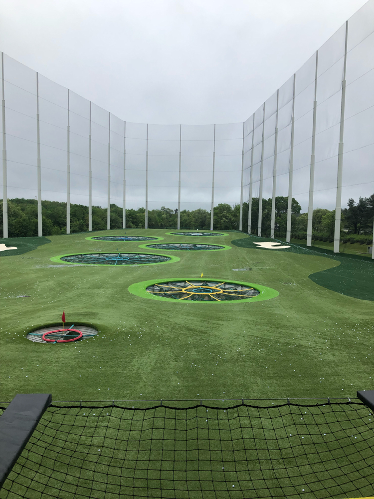 Topgolf driving range in Mount Laurel, NJ, is a fun experience for the whole family.