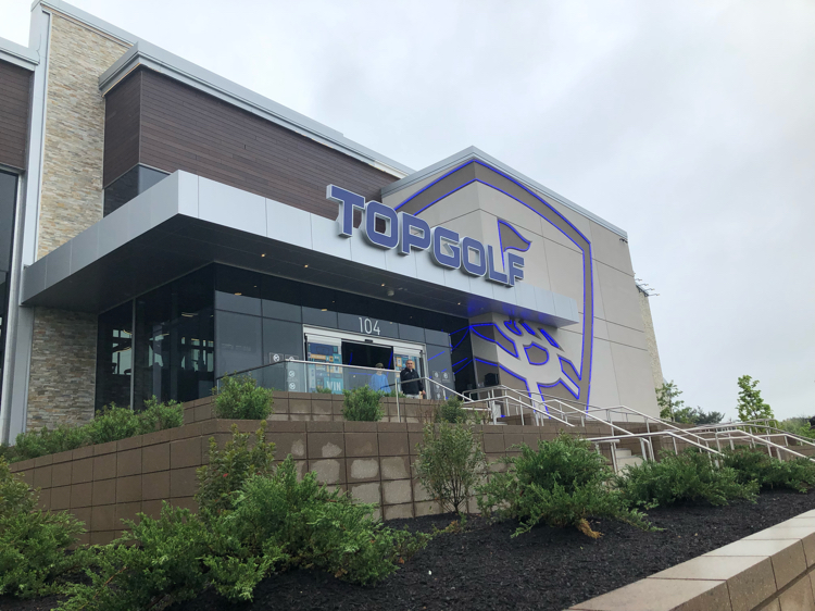 Topgolf at Mount Laurel, NJ, is a fun family experience.