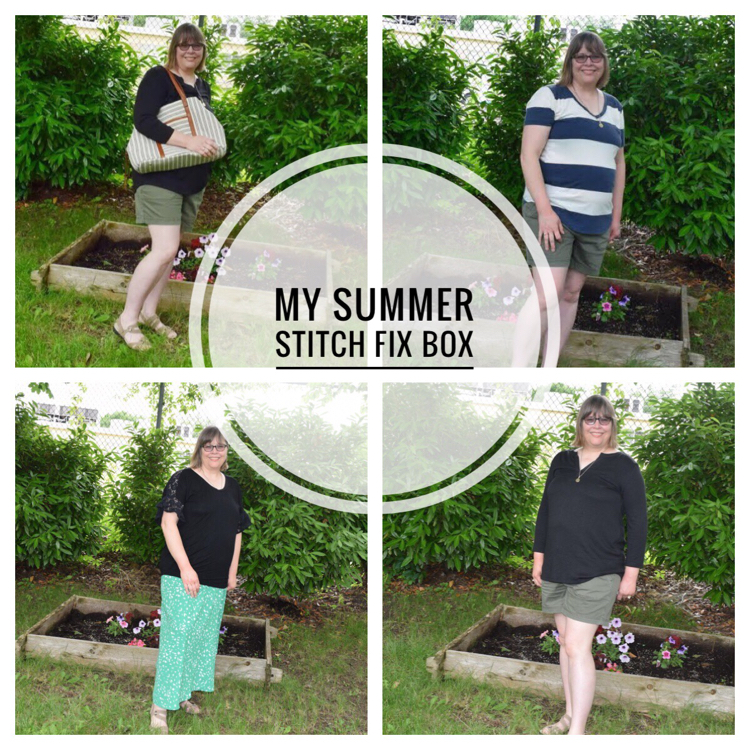 Lauren of Mom Home Guide reviews her summer Stitch Fix box Visit her blog to see what items she kept and those that she returned.