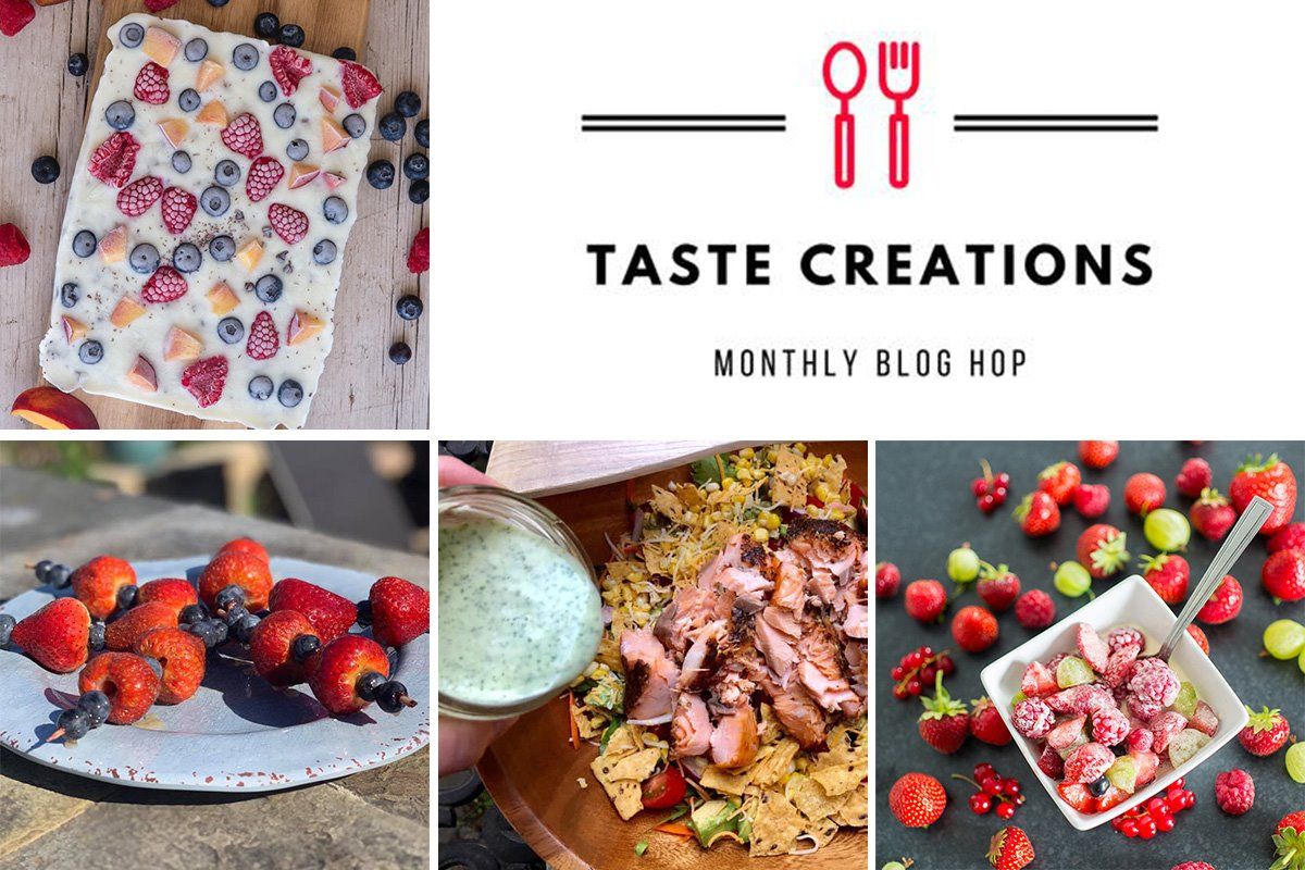Recipes using fresh summer fruits from the Taste Creations blogging group