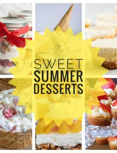 I love these sweet summer dessert recipes