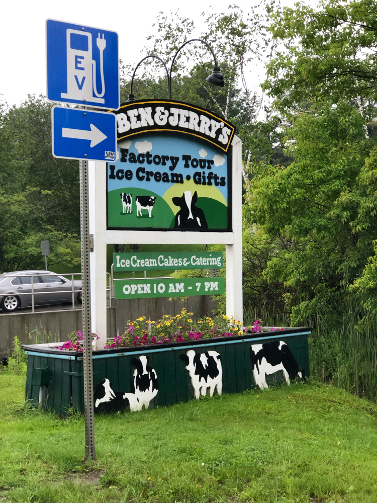 The Ben & Jerry factory tour is a fun activity in the Stowe, Vt., area.
