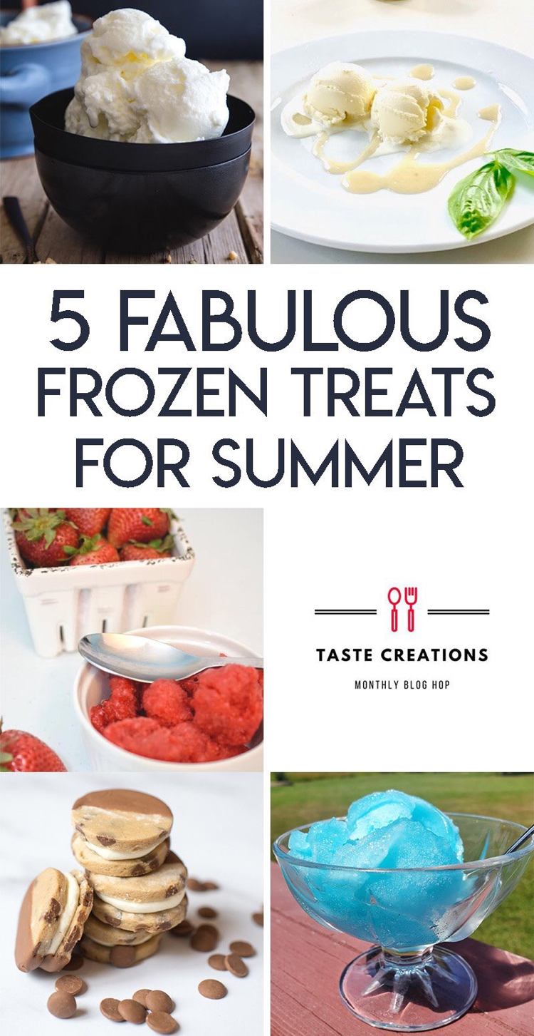 I love these 5 frozen treat recipes for summer!