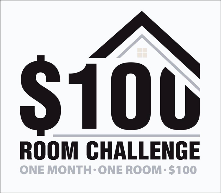 $100 Room Challenge hosted by Erin of Lemons, Lavender and Laundry