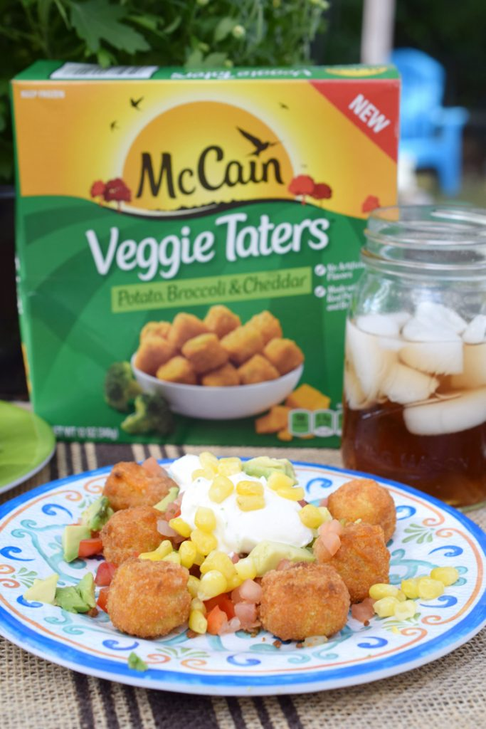 Veggie Taters are a delicious after school snack