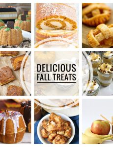 I love these delicious fall treat recipes!