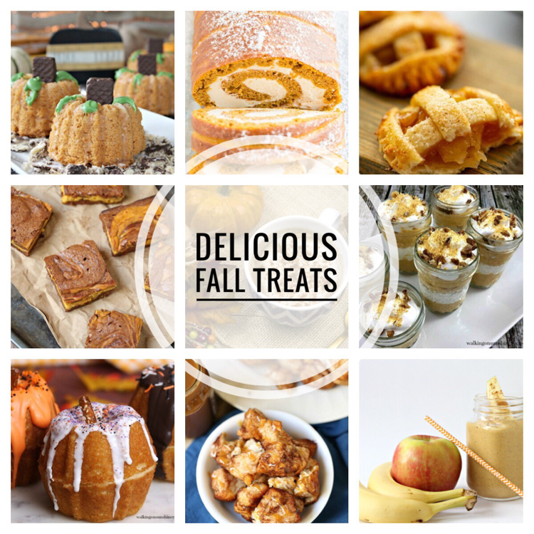 I love  these delicious fall treat recipes!
