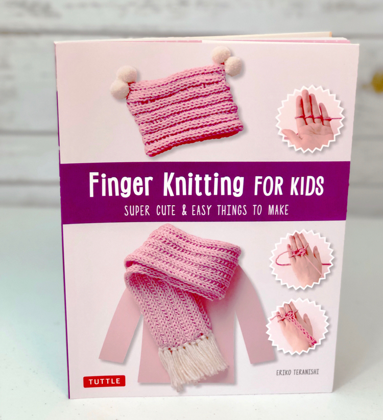 book Finger Knitting for Kids by Tuttle Publishing