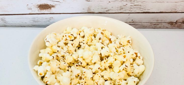 Extra Yummy, But Easy Kettle Popcorn Recipe