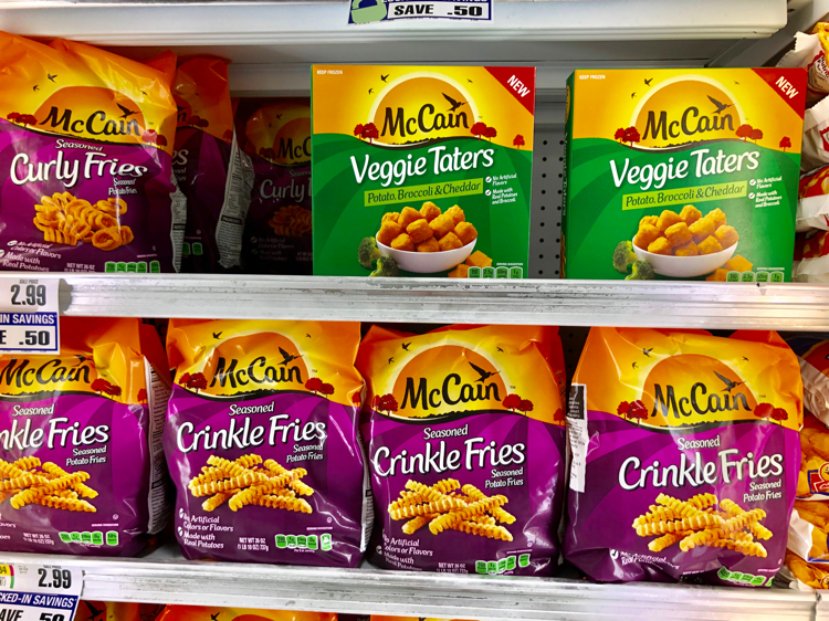 McCain Veggie Taters are available at your local grocery store.