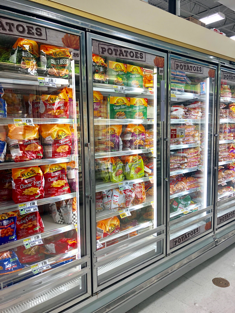 McCain® Veggie Taters™ in the frozen food section at ShopRite