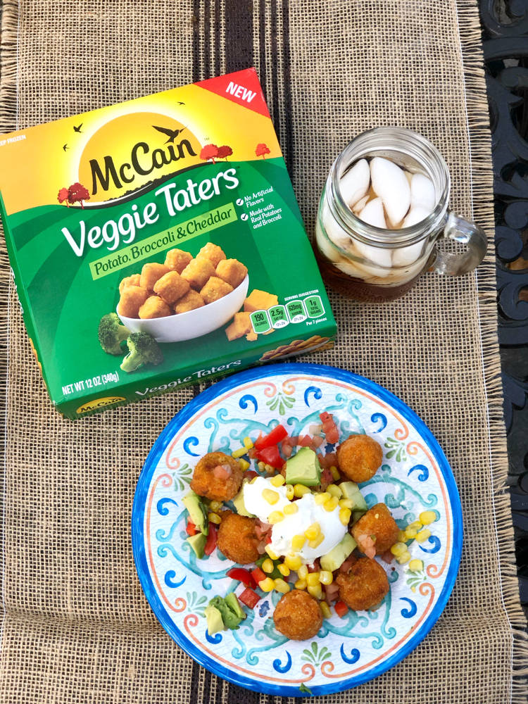 McCain Veggie Taters afternoon snack