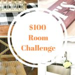 Kitchen Update – $100 Room Challenge