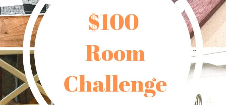 Kitchen Update – $100 Room Challenge