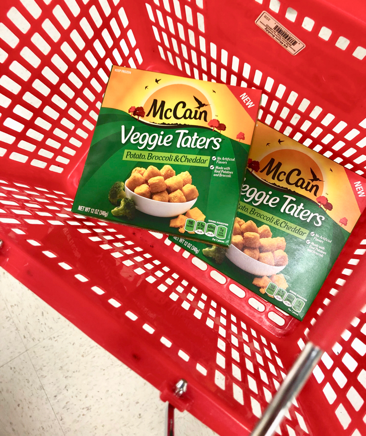 McCain Veggie Taters are a great after school snack.