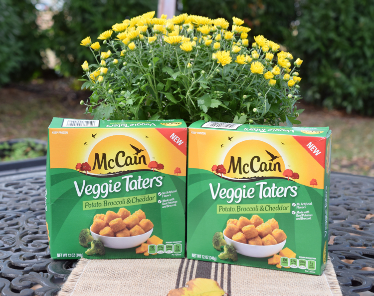 McCain Veggie Taters are a delicious afternoon snack.