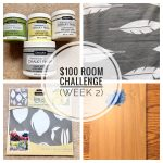 $100 Room Challenge — Kitchen (Week 2)