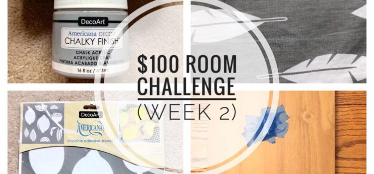 $100 Room Challenge — Kitchen (Week 2)