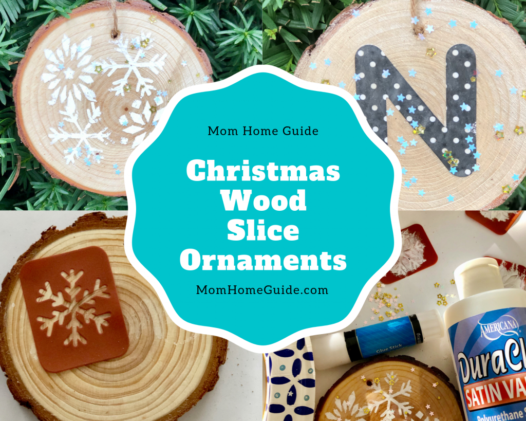 This easy to follow tutorial will show you how to make your own DIY wood slice ornaments for Christmas or the holidays.